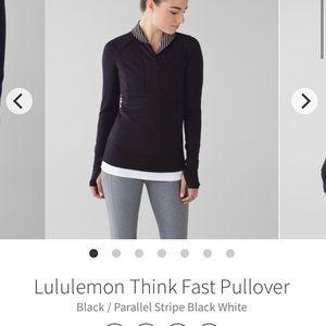 Lululemon Think Fast Pullover